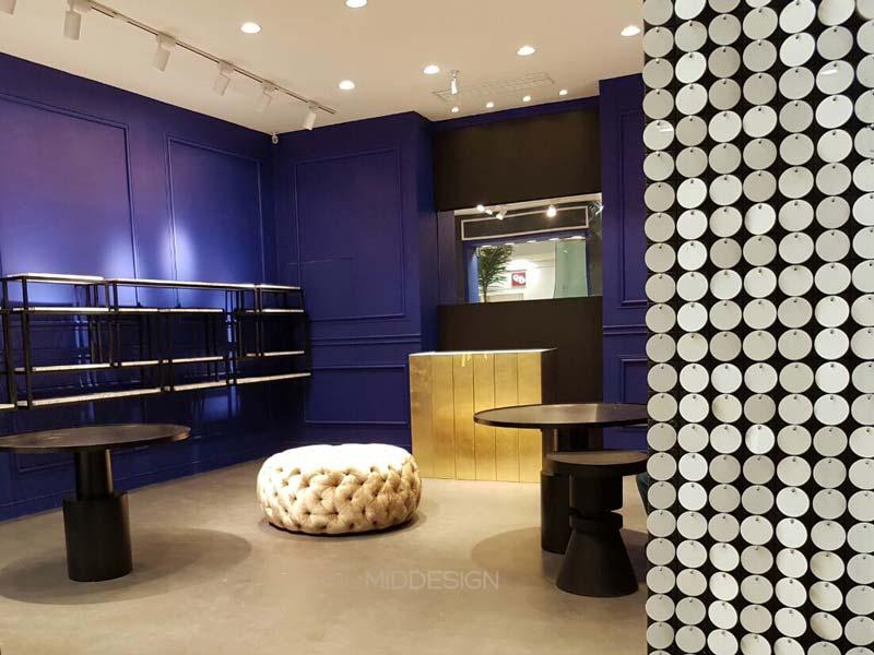 Diseño interior y construcción local JOY optical